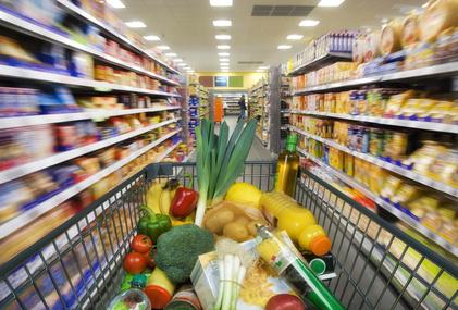 Angebot im Supermarkt